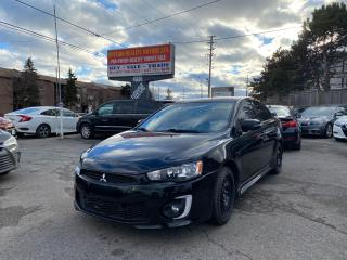 Used 2017 Mitsubishi Lancer Se Black Edition for sale in Toronto, ON