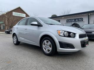 Used 2015 Chevrolet Sonic LT Auto Sedan for sale in Waterdown, ON