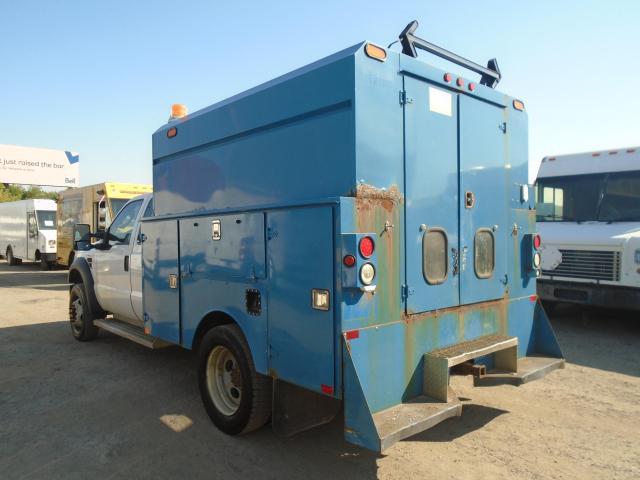 2008 Ford F-550 service truck box