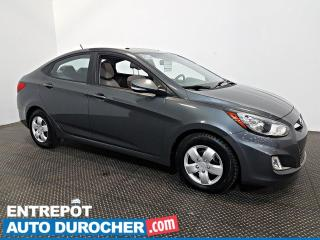 Used 2013 Hyundai Accent GLS AUTOMATIQUE TOIT OUVRANT - SIÈGES CHAUFFANTS for sale in Laval, QC