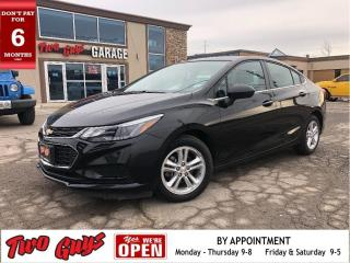 Used 2017 Chevrolet Cruze LT | 6Spd | Htd Seats | B/Up Cam | Bluetooth | for sale in St Catharines, ON