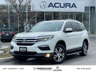 Used 2016 Honda Pilot EX-L Navi AWD for sale in Markham, ON