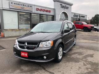 Used 2016 Dodge Grand Caravan Crew Plus w/Leather, Navi, DVD, Remote Start, Side for sale in Hamilton, ON