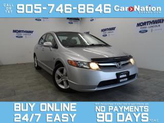 Used 2008 Honda Civic ALLOYS | LOW KM | OPEN SUNDAYS! for sale in Brantford, ON