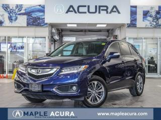 Used 2018 Acura RDX Elite, one owner, no accidents, CPO 7/160 warranty for sale in Maple, ON