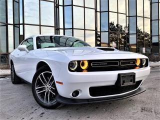 Used 2019 Dodge Challenger GT |AWD|SENSORS|HEATED SEATS|NAVIGATION|REAR VIEW! for sale in Brampton, ON