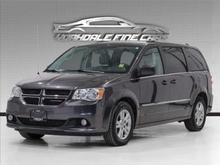 Used 2017 Dodge Grand Caravan Crew .Navi, Power Sliding, DVD. Leather for sale in Concord, ON