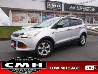 Used 2015 Ford Escape S  CAM BLUETOOTH S/W-AUDIO 17-AL for sale in St. Catharines, ON