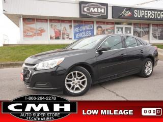 Used 2015 Chevrolet Malibu LT w/1LT  CAM BT ROOF P/SEAT 17-AL for sale in St. Catharines, ON