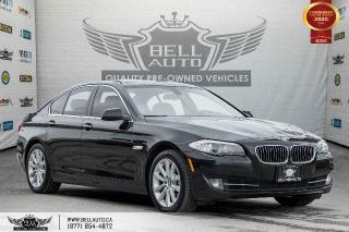 Used 2013 BMW 5 Series 528i xDrive, AWD, NAVI, REAR CAM, SUNROOF, SENSORS for sale in Toronto, ON