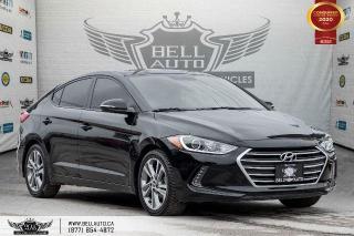 Used 2017 Hyundai Elantra GLS, REAR CAM, B.SPOT, SUNROOF, PUSH START for sale in Toronto, ON