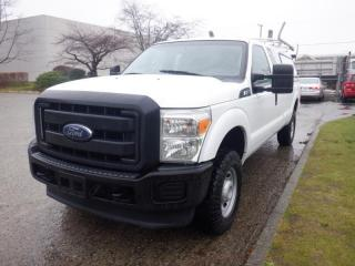 Used 2014 Ford F-250 SD XL SuperCab Long Box  4WD Canopy Ladder Rack for sale in Burnaby, BC