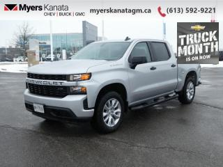 Used 2021 Chevrolet Silverado 1500 Custom for sale in Kanata, ON