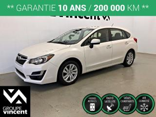 Used 2015 Subaru Impreza 2.0i Touring Package AWD ** GARANTIE 10 ANS ** Voiture à hayon quatre roues motrices, qui déjoue nos hivers! for sale in Shawinigan, QC