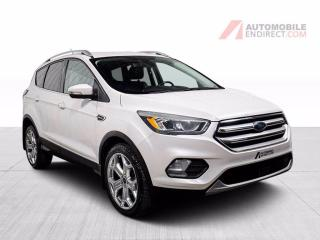 Used 2017 Ford Escape TITANIUM AWD CUIR GROS ECRAN for sale in St-Hubert, QC