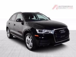 Used 2017 Audi Q3 KOMFORT QUATTRO CUIR TOIT PANO MAGS for sale in St-Hubert, QC