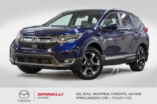 Used 2017 Honda CR-V Touring AWD GPS Cuir Apple Car Play Androit Auto Honda CR-V Touring 2017 for sale in Lachine, QC