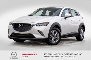 Used 2018 Mazda CX-3 GS Sieges Chauffants Camera de Recule Bluetooth Mazda CX-3 GS 2018 for sale in Lachine, QC