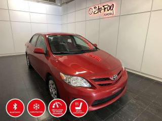 Used 2013 Toyota Corolla CE - SIÈGES CHAUFFANTS - MANUELLE for sale in Québec, QC