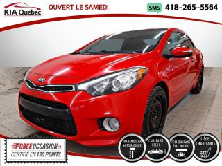 Used 2014 Kia Forte Koup EX+* AT* TOIT* CERTIFIE 2.79%* CAMERA* for sale in Québec, QC