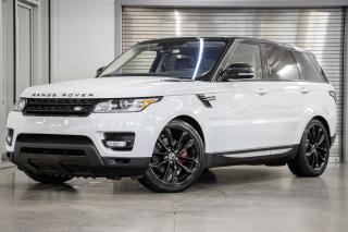 Used 2016 Land Rover Range Rover Sport Td6 HSE *GARANTIE PROLONGÉE INCLUSE* for sale in Laval, QC