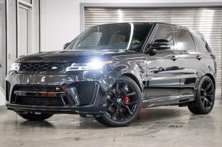 Used 2020 Land Rover Range Rover Sport V8 Supercharged SVR *NOUVELLE ARRIVÉE!* for sale in Laval, QC