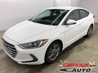 Used 2018 Hyundai Elantra GL MAGS BLUETOOTH CAMÉRA *Bas Kilométrage* for sale in Shawinigan, QC