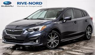 Used 2017 Subaru Impreza Sport CAM.RECUL+MAGS+SIEGES.CHAUFFANTS for sale in Boisbriand, QC