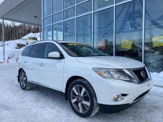 Used 2014 Nissan Pathfinder PLATINUM , AWD , CUIR , TOIT for sale in Ste-Agathe-des-Monts, QC