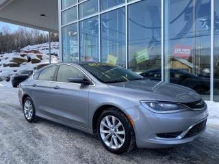 Used 2015 Chrysler 200 200 C , AUTO , NAV , BLUETOOTH , 8.4' , for sale in Ste-Agathe-des-Monts, QC