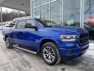 Used 2019 RAM 1500 SPORT , CREW , BOITE 6'4' , NIV 2 for sale in Ste-Agathe-des-Monts, QC