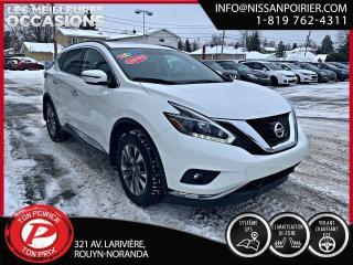 Used 2018 Nissan Murano SV ( frais vip 395$ non inclus) for sale in Rouyn-Noranda, QC