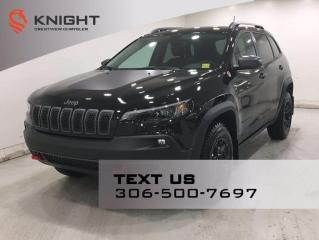 New 2021 Jeep Cherokee Trailhawk 4x4 V6 | Sunroof | for sale in Regina, SK