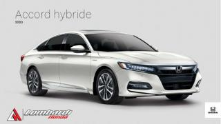 Used 2020 Honda Accord HYBRIDE|VEHICULE NEUF|SOLDE FINAL 1 EN S for sale in Montréal, QC
