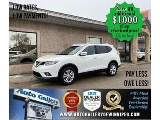 Used 2016 Nissan Rogue SV* LOW KMS/Heated Seats/REMOTE START for sale in Winnipeg, MB