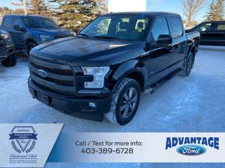 Used 2017 Ford F-150 Lariat LOADED - MAX TRAILER TOW PACKAGE for sale in Calgary, AB