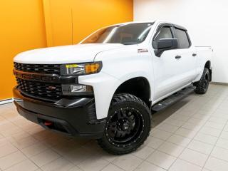Used 2019 Chevrolet Silverado 1500 CUSTOM TRAIL BOSS CREW 4X4 CAMÉRA *GR. REMORQUAGE* for sale in Mirabel, QC
