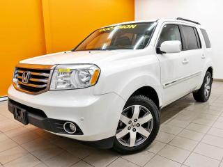 Used 2014 Honda Pilot TOURING CUIR AWD *8 PLACES* DVD *TOIT* NAVI *PROMO for sale in Mirabel, QC