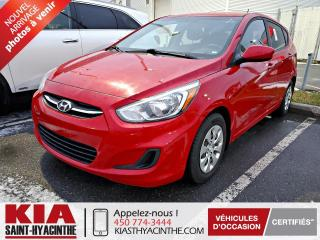 Used 2016 Hyundai Accent GL ** SIÈGES CHAUFFANTS / BLUETOOTH for sale in St-Hyacinthe, QC