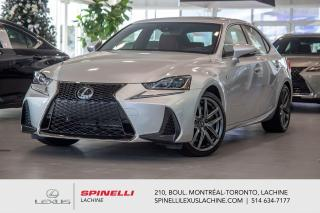 Used 2020 Lexus IS 350 F SPORT III AWD; 311CH CUIR TOIT GPS AUDIO LSS+ $4,479 RABAIS DU PDSF - LIQUIDATION FINALE 2020 for sale in Lachine, QC