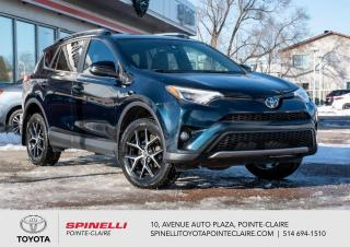 Used 2018 Toyota RAV4 ***RÉSERVÉ***SE+GPS for sale in Pointe-Claire, QC