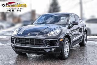 Used 2016 Porsche Macan MACAN S! | ACCIDENT FREE!! | TWIN PANNEL SUNROOF! for sale in Bolton, ON