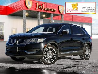 Used 2016 Lincoln MKX Reserve Fully Fully Loaded,AWD for sale in Brandon, MB
