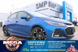 Used 2019 Chevrolet Cruze LT- Rs Pkg, Heated Seats, Remote Start, Back Up Camera for sale in Saskatoon, SK