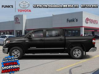 New 2021 Toyota Tundra SR5 TRD Off-Road  - Sunroof for sale in Steinbach, MB