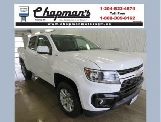 New 2021 Chevrolet Colorado LT Remote Start, Rear Vision Camera, Heated Front Seats for sale in Killarney, MB