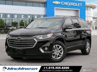 New 2021 Chevrolet Traverse LT Cloth V6 | AWD | BLIND SPOT SENSOR | REMOTE START | HEATED SEATS | MOBILE HOTSPOT for sale in London, ON