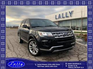 Used 2019 Ford Explorer Limited, AWD, Roof, Nav, Leather!! for sale in Tilbury, ON