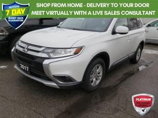 Used 2017 Mitsubishi Outlander ES Brakes recently serviced for sale in St. Thomas, ON
