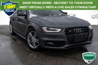 Used 2015 Audi S4 3.0T Technik 3.0L TURBO!!! ALL WHEEL DRIVE!!! for sale in Barrie, ON